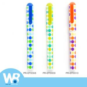 Color Dot Ball Pen