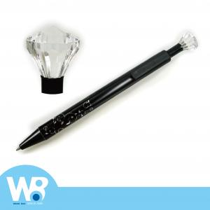 Ballpoint-pen with Diamond Shape Push Button